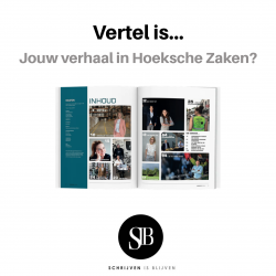 Columnist Hoeksche Zaken businessmagazine