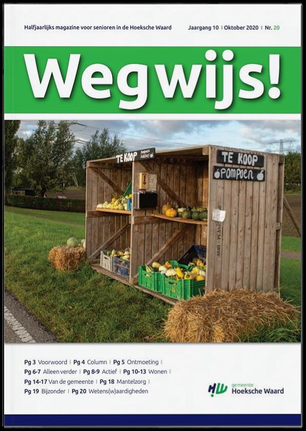 tekstschrijver Hoeksche Waard gemeente Wegwijs magazine