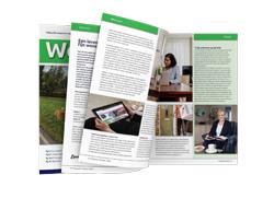 tekstschrijver Hoeksche Waard seniorenmagazine gemeente Hoeksche Waard